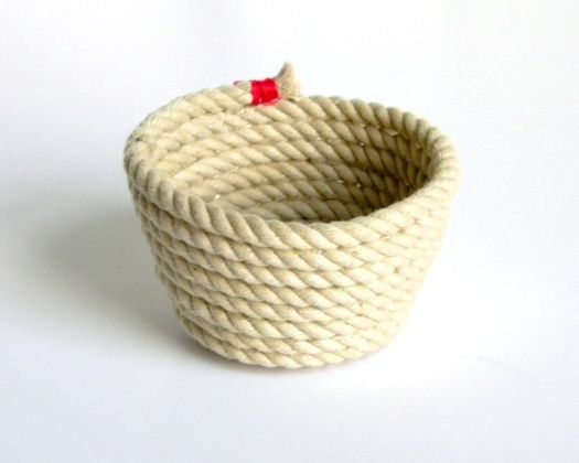 How-To: Decorative Rope Bowl from Julie at Belrossa