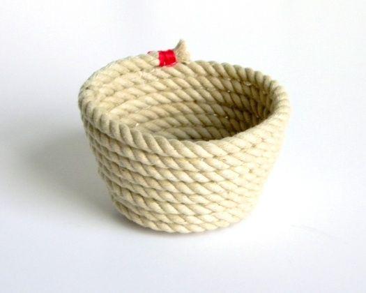 cesto de cuerdas