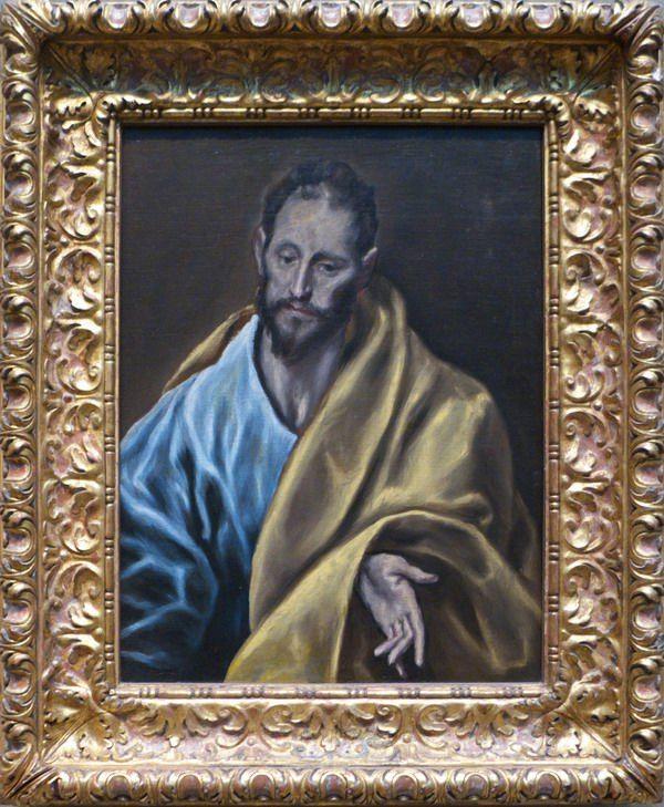 Классическое искусство в Art Institute of Chicago: virginian Эль Греко, Святой Иаков, 1610/1614, одна из последних картин художника