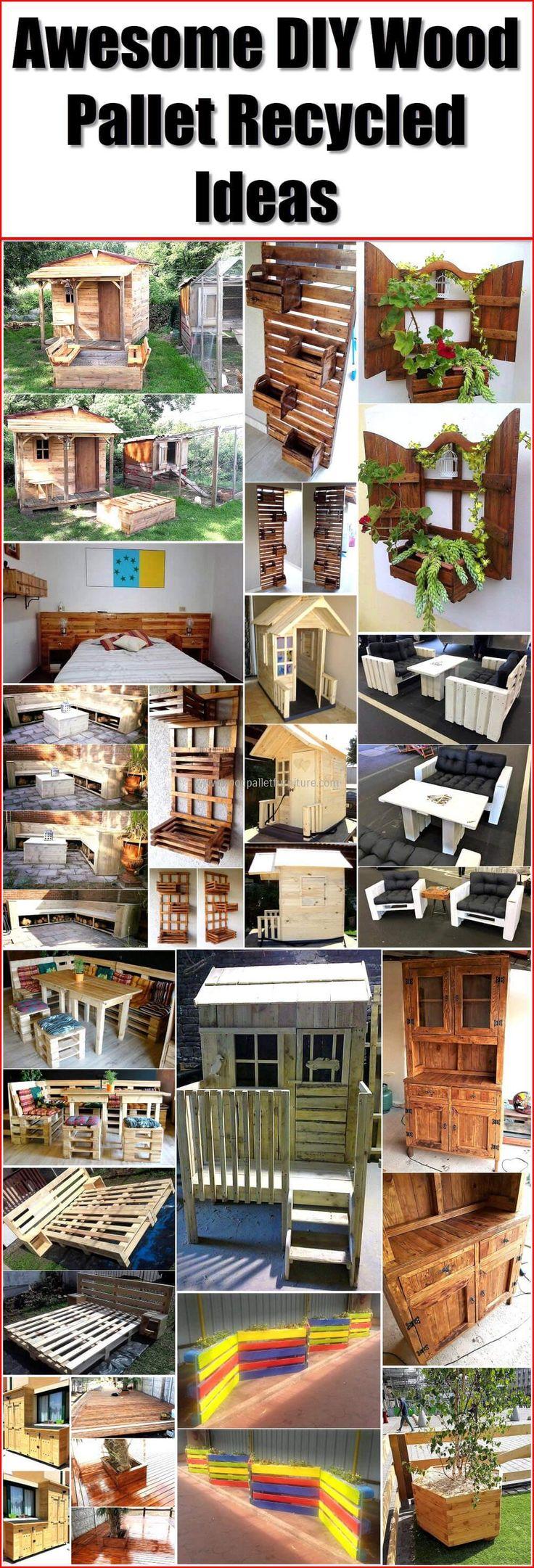 Wooden transport pallets have become increasingly popular for diy - Pallet Wood