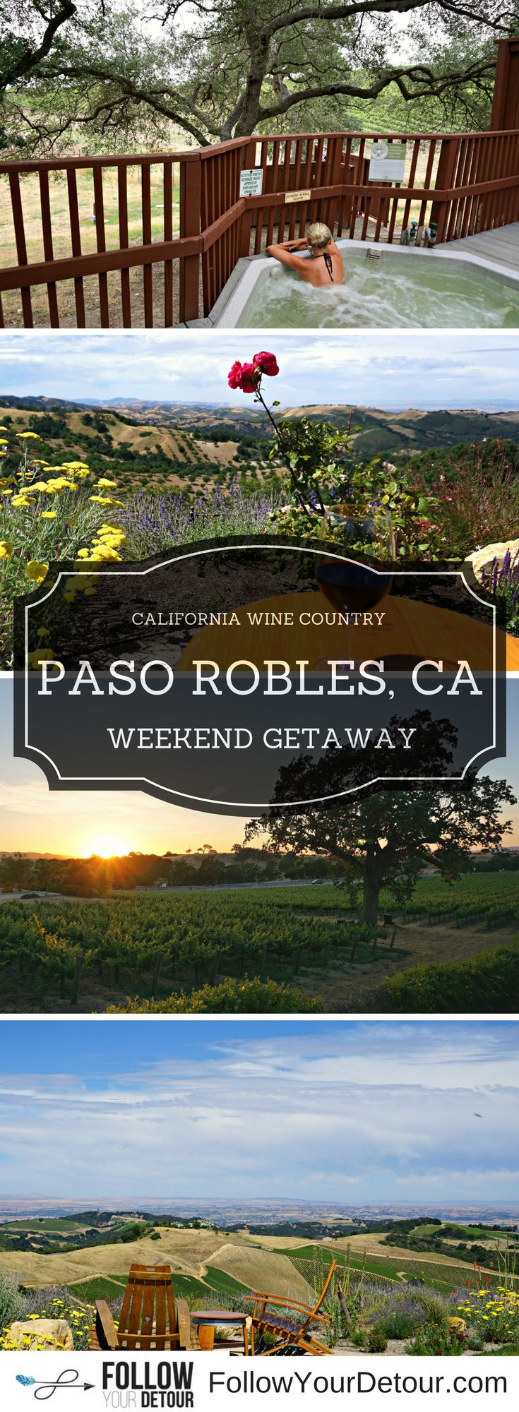 Looking for a great weekend getaway? Paso Robles is another amazing city in California wine country that we had never heard of prior to our RV travels. It has everything you could want...wine tasting, breathtaking views, hot springs, and a charming downtown! Read this article for our top activity suggestions and then get to planning your own trip there.
