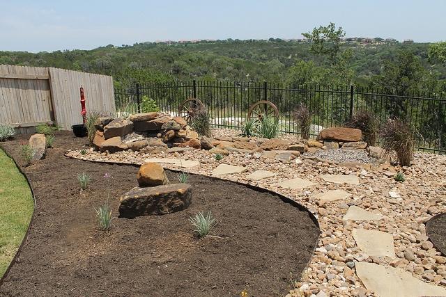 #Landscape #design for Steiner Ranch home by DH Landscape Design