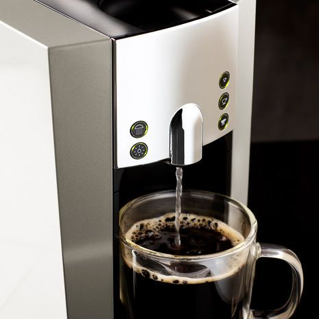 Coffee Makers At Home Outfitters : Verismo 600 Brewer Silver New Starbucks Brewing Machine. I need this.....