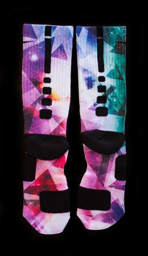Custom Elites Everyone's #1 Choice By Thesockgame.com — Custom Socks for Lebron 10 Prism Shoes
