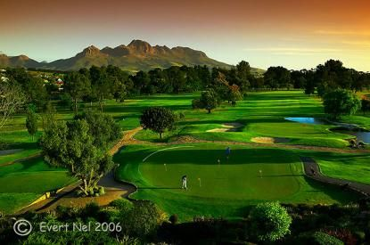 Stellenbosch Golf Club - 18 hole golf course and practice facility (including driving range) | Stellenbosch | Cape Winelands #golf #stellenbosch