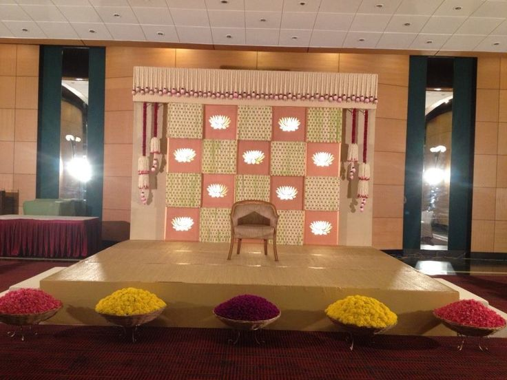 Stage Ideas - South Indian