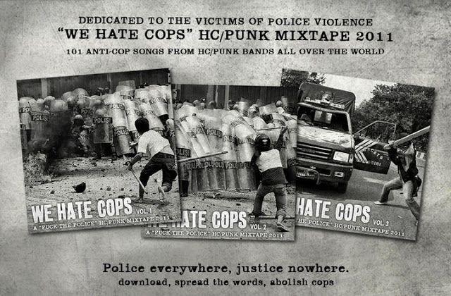 PunXXX: WE HATE COPS -101 Anti-Cop Songs by HC/punk - PunX...
