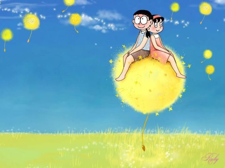 Nobita and Shizuka :x