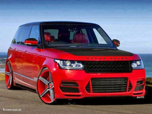 Red Range Rover Tuned Wallpaper