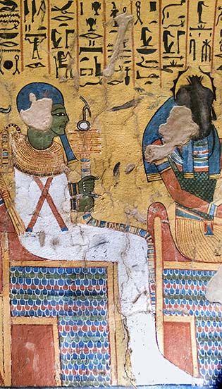 Pashedu tom TT 3 Luxor Egypt