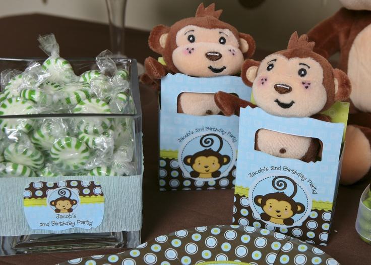 party favors boys birthday party themes birthday ideas monkey baby