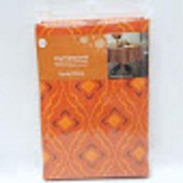Vinyl Tablecloth Round 70 Inch Diameter Harvest Frette 100% Non Woven  Backing