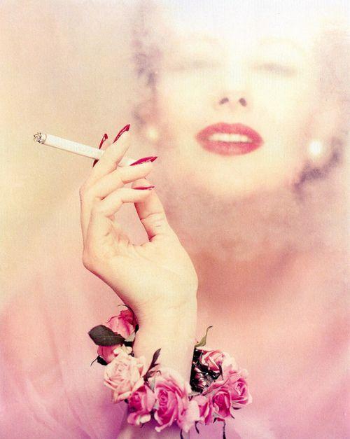 Blumenfeld.Photos, Vintage, Erwin Blumenfeld, Beautiful, Red Lips, Fashion Photography, Smoke, 1950S Fashion