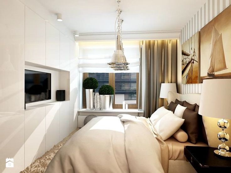 Apartament w Warszawie - Sypialnia - Styl Eklektyczny - GR8 Interior Design