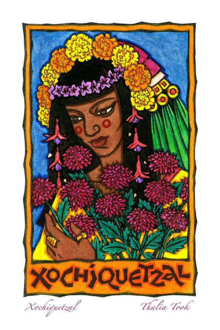 49 best images about Xochiquetzal on Pinterest | Flower ...