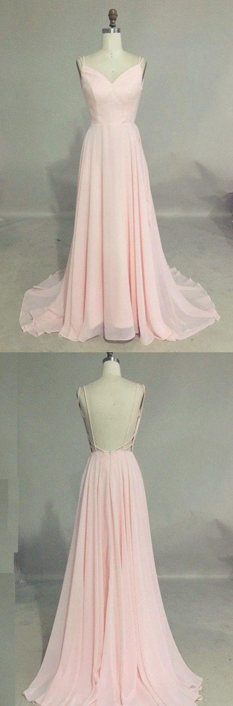 prom dresses,pink prom dresses,cheap sweep train prom dresses,backless prom dresses,pink prom party dresses