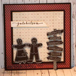 Lindas papercrafting: Julekort 2016 del 4