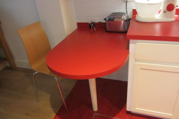 Our Recent Retro Kitchen with table fitted in London