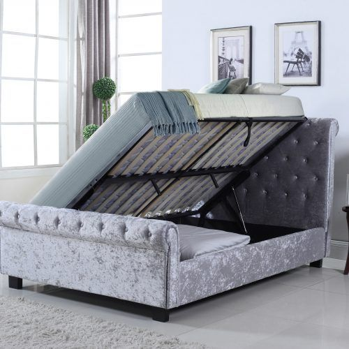 12 best Fabric Beds images on Pinterest Fabric beds Spring
