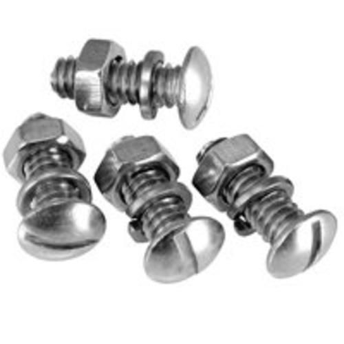 Bell Automotive 22-1-45904-8 Stainless Steel License Plate Fasteners