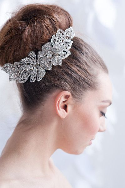 228 best images about Bridal: Heavenly Headpieces on Pinterest ...