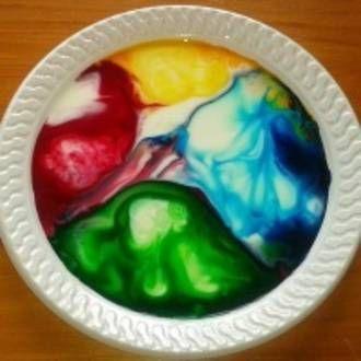 How to make Magic Rainbow Milk