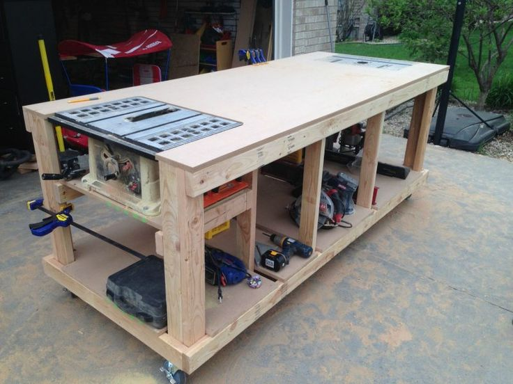 2 home improvement instructions: build workbench and workbench yourself