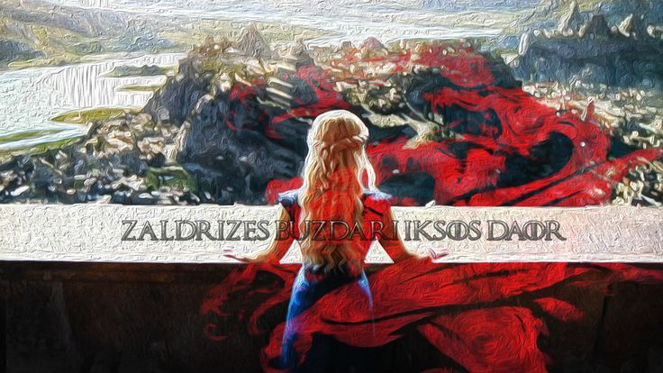 """""""Zaldrīzes buzdari iksos daor. (A dragon is not a slave.)""""  The epic phrase spoke by Daenerys in A Storm Of Swords, Chapter 27."""