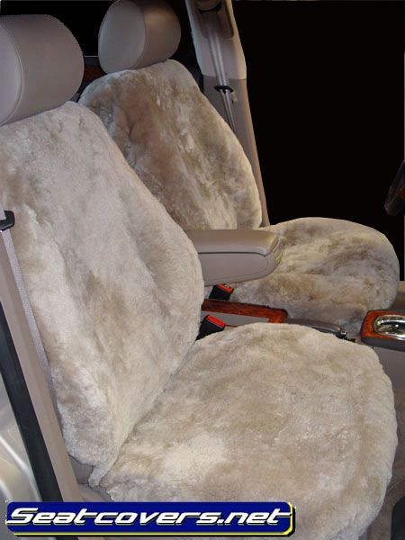 Soft Sheepskin Seat Covers. :-)