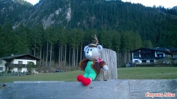 Вот и вернулись наши путешественники из Австрии. Местечко называется Майрхофен, федеральные земли Тироль, долина Циллерталь.