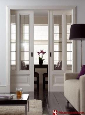 Love these doors as room deviders