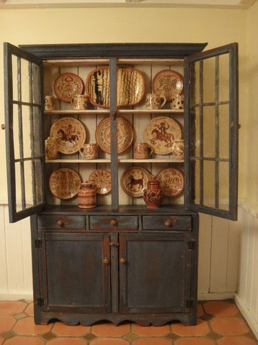 bubba's country cupboard filled with jane graber's pottery