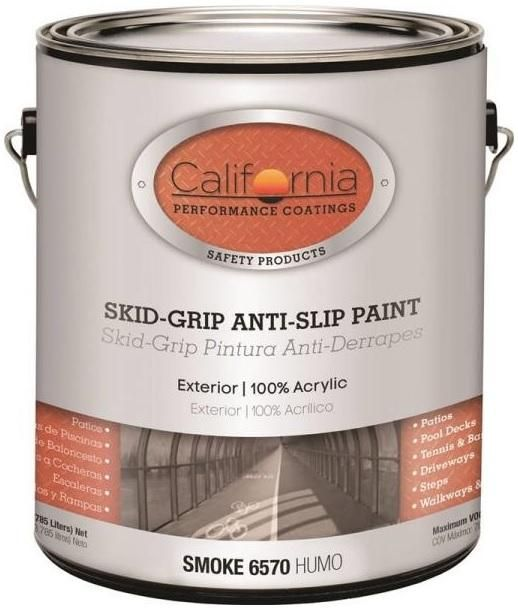 Fixall F06570 1 Skid Grip Anti Slip Paint 1 Gallon Candle Jars Water Type Painting