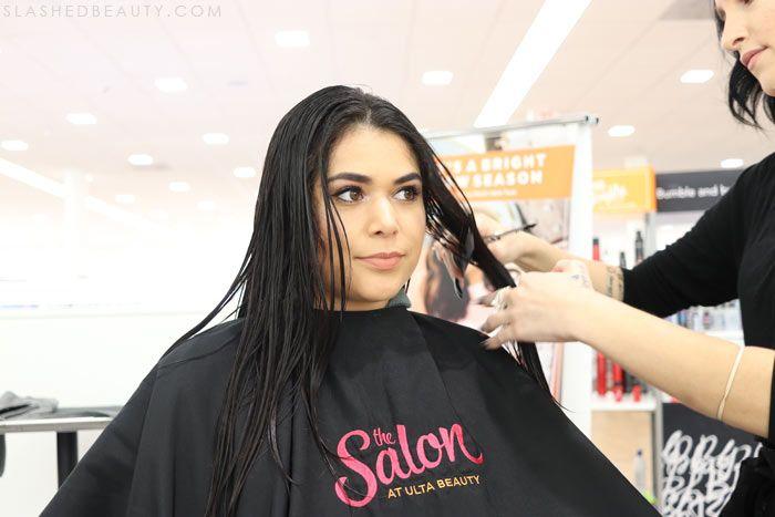 Before After The Salon At Ulta Beauty Review Slashed Beauty In 2020 Ulta Beauty Hair And Beauty Salon Ulta Hair Salon