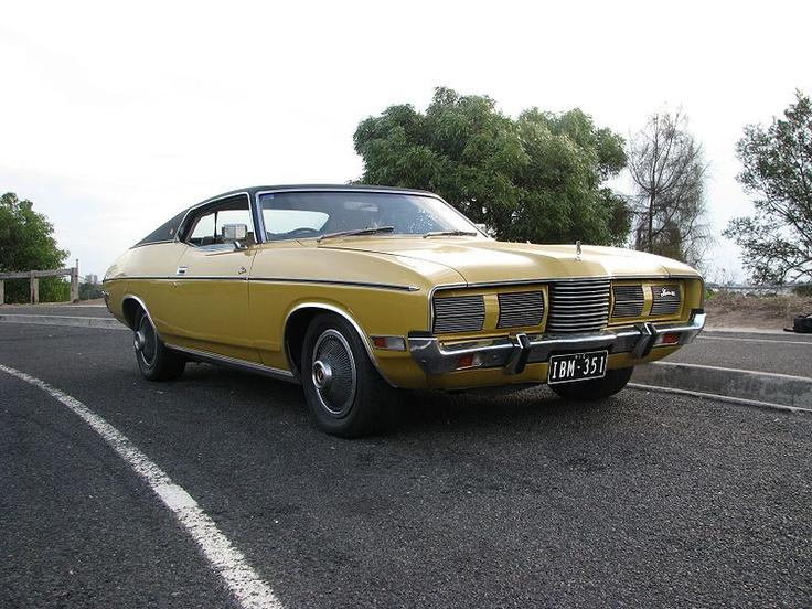 Unrestored Australian Ford Landau Manufactured July 1975.