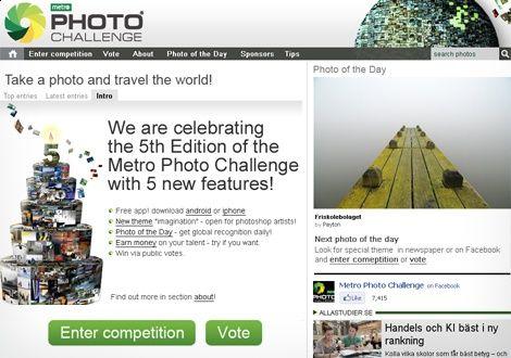 Metro Photo Challenge - photo contest