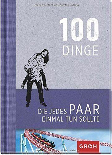 """Das Buch """"100 Dinge, die jedes Paar einmal tun sollte"""" ist ein ideales Geschenk für Paare. Zur Hochzeit, zum Jahrestag oder zu Weihnachten. Auch zu einer Einladung bei Freunden ist es geeignet. Es ist witzig, preiswert und originell. Ein schönes Paargeschenk."""