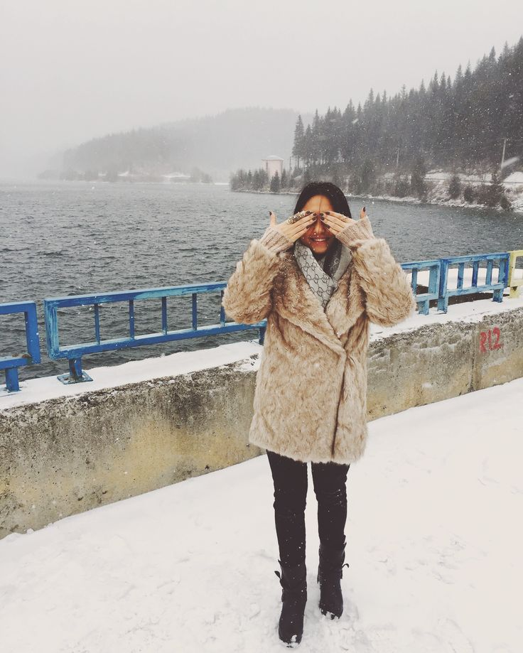 #winterdays #zara #fauxfur #gucciscarf #ilpasso #boots #leather #black #jeans #rings
