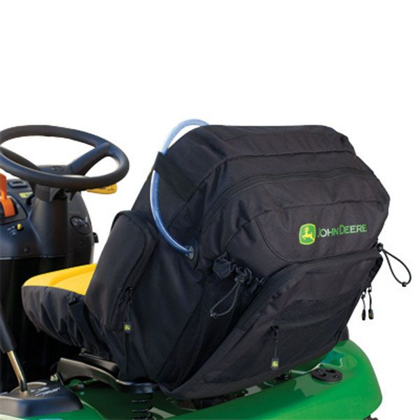 John Deere Riding Mower Seat Covers With Pockets : John deere riding mower hydration seat cover lp