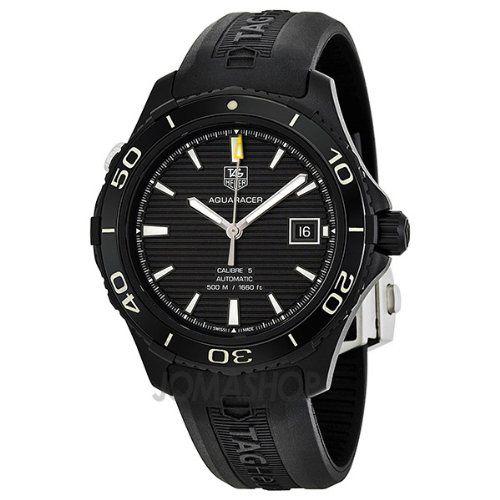 Tag Heuer Aquaracer 500 Automatic Titanium Mens Watch WAK2180.FT6027 - http://www.bestwatchdeals.co/men/wrist-wtches/luxury/tag-heuer-aquaracer-500-automatic-titanium-mens-watch-wak2180-ft6027/ #500, #Aquaracer, #Automatic, #Heuer, #Mens, #TAG, #Titanium, #WAK2180FT6027, #Watch