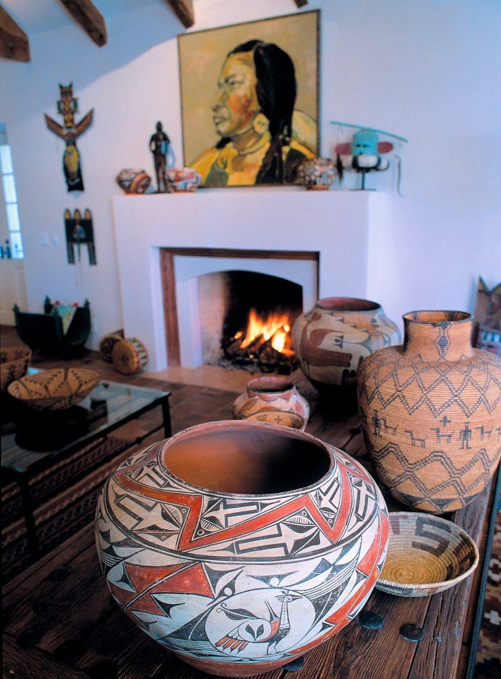 Best 25 southwest decor santa fe ideas on pinterest for Fireplaces southwest