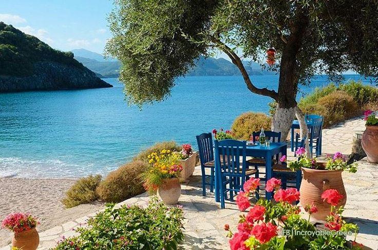 Taverna by the sea... Mega Ammos, Syvota