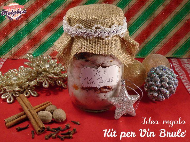 Il kit per vin brulè è un'idea regalo home made per Natale fantasiosa ed economica! Stupite i vostri amici con questo profumato dono in barattolo!