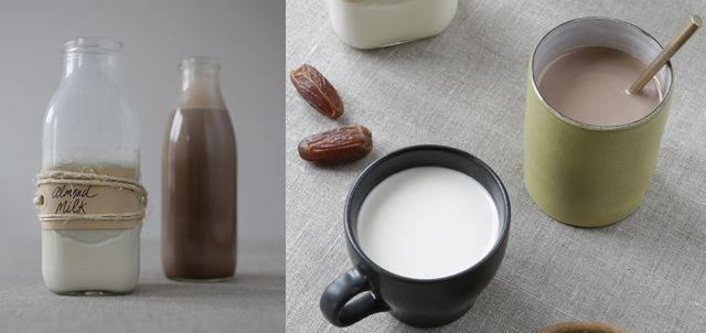 homemade nut milk by for the love of taste #almond milk #hazelnut chocolate milk #dairy free  http://fortheloveoftaste.wordpress.com/2013/12/01/homemade-nutmilk/