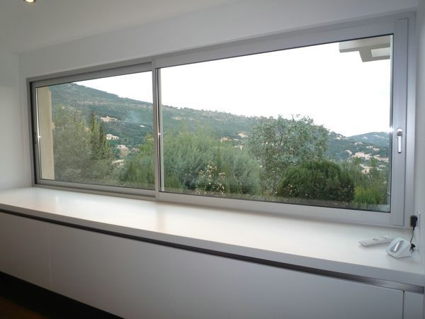 Fenetre coulissante sur mesure fen tres aluminium for Fenetre baie window prix