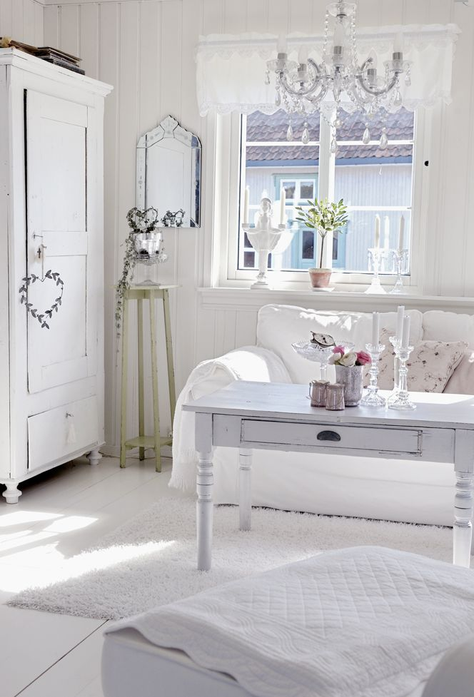 28 best shabby chic living room images on pinterest home for White shabby chic living room furniture