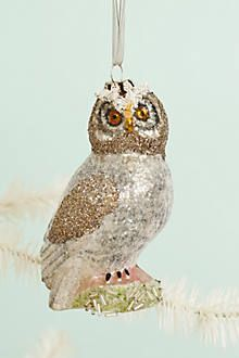 bird watcher ornament