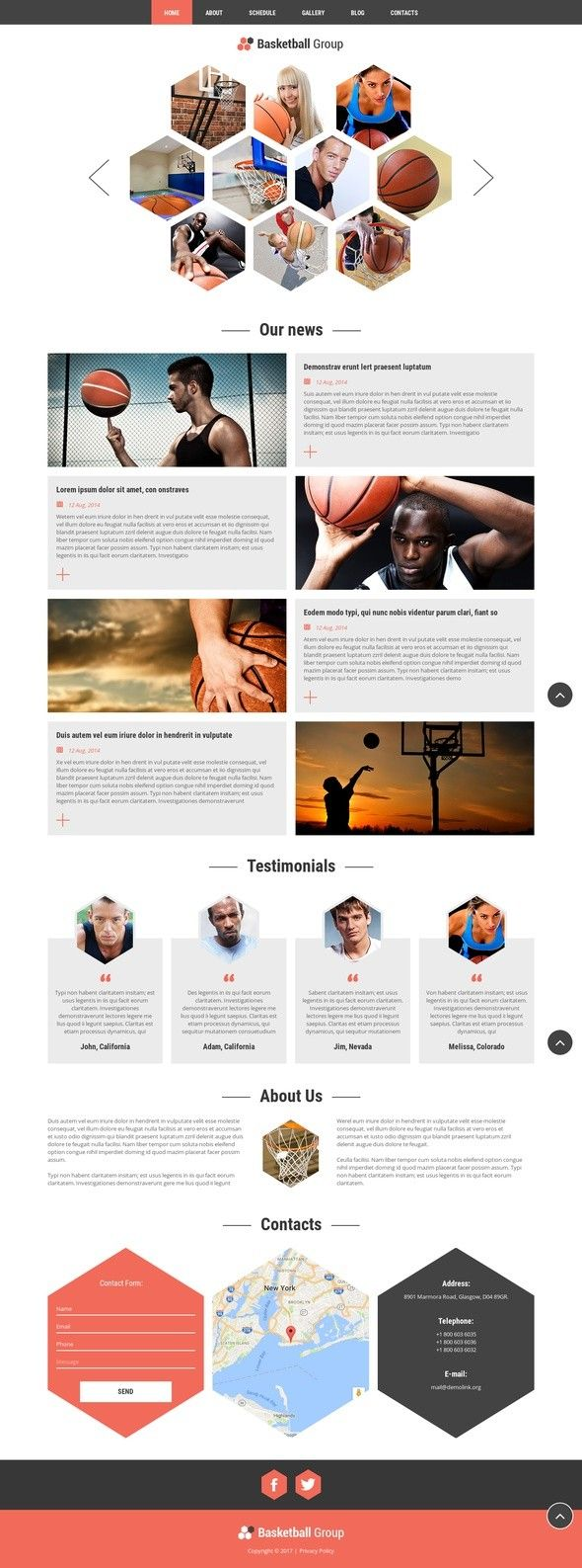 NBA Fan Board Joomla Template CMS & Blog Templates, Joomla Templates, Sports, Outdoors & Travel, Sport Templates, More Sports, Basketball Templates