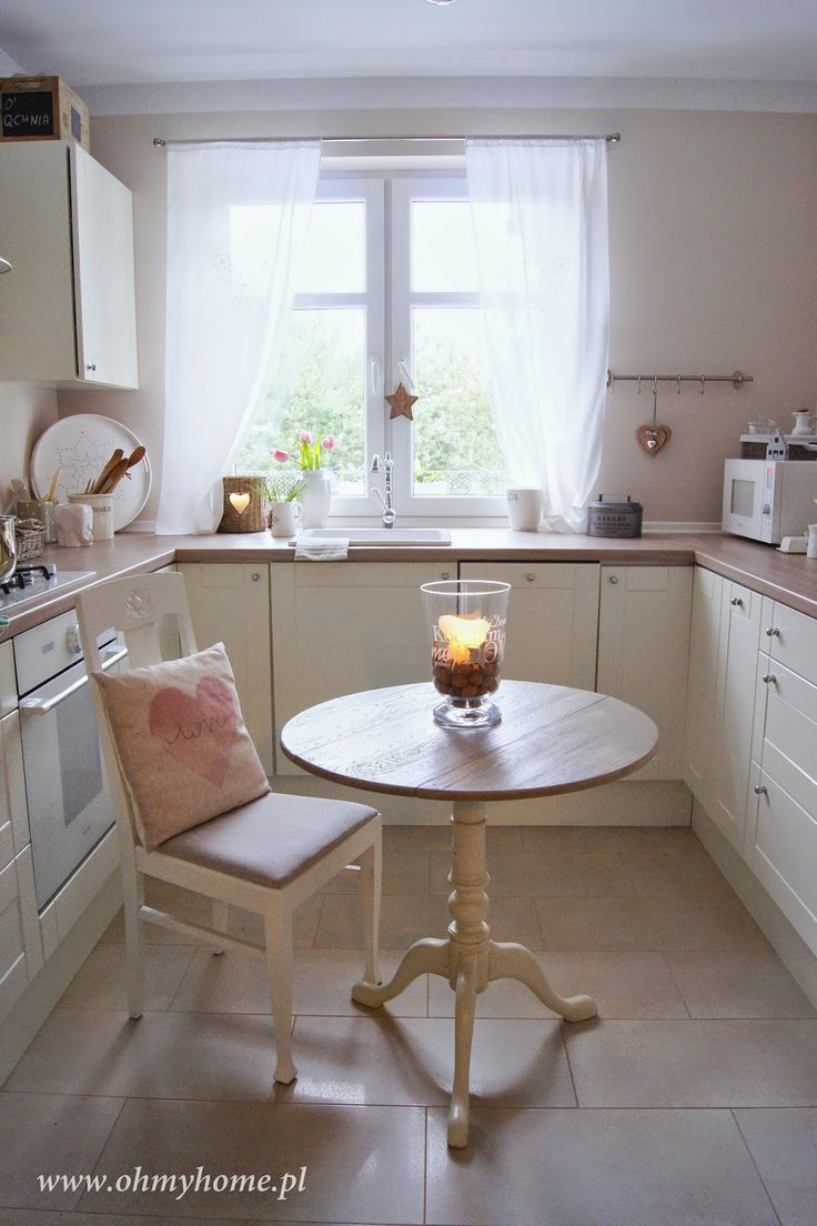 White kitchen in scandinavian style
