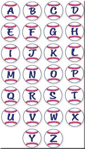 Baseball Banner, Molly Mine Embroidery Machine Designs